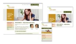 Ressponsive Webdesign arche medica