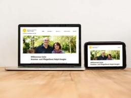 Webdesign Ambulante Krankenpflege Ralph Dengler